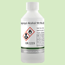 Isopropyl Alcohol (Isopropanol) 99.9% 250ml Including Delivery