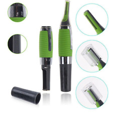 Mens Nasal Nose Ear Hair Neck Chest and Eyebrow Trimmer Cordless Grooming Cutter