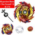 Beyblade B-174 Limit Break Burn Hyperion Burn Cho Xceed\'+X Superking w/ Launcher