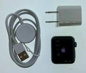 Apple A1858 Watch Series 3 38mm Aluminum No Band Space Gray