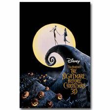 The Nightmare Before Christmas 2 Print Art Silk Poster