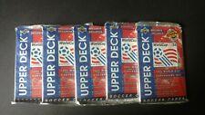 1994 Upper Deck Soccer World Cup Lot Of 5 Unopened Packs