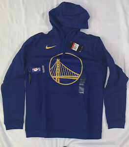 Men's Golden State Warriors Nike Club Fleece Pullover Hoodie Large NWT $70
