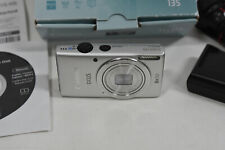 Canon IXUS 135 HD Wi-Fi  16MP Digital Camera with 8x Optical Zoom & Accessories