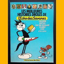 LES MEILLEURES HISTOIRES DROLES DE L'ECHO DES SAVANES 1987