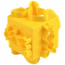 3x Disney Winnie The Pooh Yellow Cartoon Character Shapes Cube Cutter