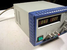 BK PRECISION DC POWER SUPPLY MODEL 1667  TESTED 0-60VDC   3.3A