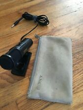 Sony Rare Ecm-909 Stereo Microphone with stand and carrying case