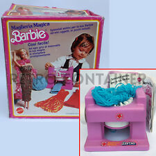 VINTAGE BARBIE MATTEL - Maglieria Magica # 7830 - Knitting Machine (1974)