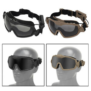 Sports Tactical Goggles UV400 Women Men Hunting Goggle Game Anti-Fog Eyewear