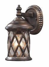 ELK Lighting 42036/1 Barrington Gate Outdoor Wall Light Hazelnut Bronze