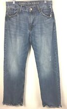 American Eagle Mens Size 33/32 Worn and Distressed 100% Cotton Denim Jeans (7I)