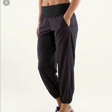 Lululemon Om  Black Yoga Dance Pants  Size 4