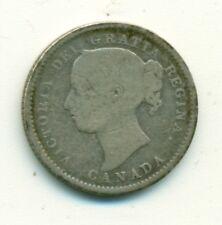 Canada 10 cents 1888 AVG