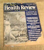 Bernarr Macfadden Health Review,July-August,1950,Vinatge Health/Fitness Magazine