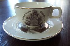 Vintage Enco 'Views of America' 22K Gold Trim Carlsbad Caverns Cup and Saucer