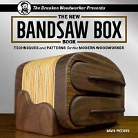New Bandsaw Box Book : Techniques and Patterns for the Modern Woodworker: By ...