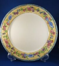 Set of 2 BIRDS AND THE BEES by SANGO Dinner Plates - Discount Ship for 2+ Sets