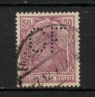 (YYAA 442) GERMANY 1920 TYPE I USED Mich 146 Sc 125 Deutsches Reich
