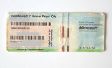 ✔ Original Windows 7 Home Premium 32 64 Bit  Aktivierung Aufkleber Lizenz Key