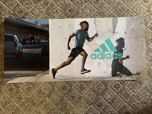 "Adidas Retail (Running) Display Banner/Poster (48"" X 22"")"