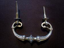 ancienne poignée anneau  de tiroir métal