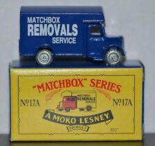 BEDFORD REMOVAL VAN ~ LIMITED EDITION ~ Matchbox Recreation Originals No. 17A
