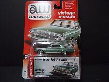 Auto World Dodge Polara 1963 Green 1/64 64032B