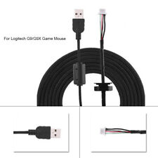 For Logitech G9 G9X Mice 2M Repair Replacement Line USB Gaming Mouse Cable Cord