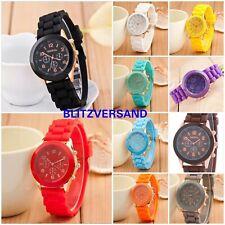 Silikon Armbanduhr Herren Damen Gummi Watch Damen Uhr Bunte Kinderuhr Sport Uhr