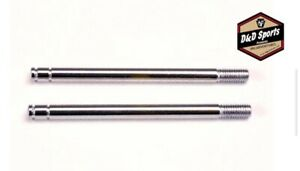 Traxxas 1664 Shock shafts, steel, chrome finish (long) (2) NEW