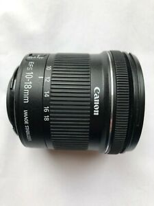 Canon EF-S 10-18mm f/4.5-5.6 IS Wide Angle Lens
