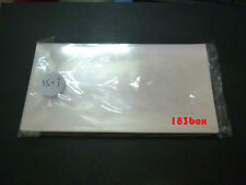 Plastic Sleeve 3.5' x 7' protector cover / banknote/ Stamp/ paper money - 50pc