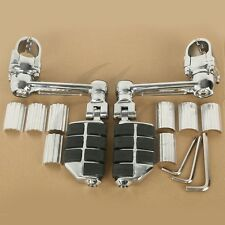 Adjustable Aluminum Foot Rest Foot Pegs For Honda Goldwing GL1800 22mm 30mm 35mm