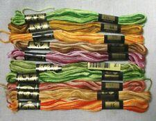 10 Skeins Dmc Variegated Embroidery Cross Stitch Floss Assortment #2