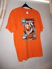 NEW TAG 2XL M&M T SHIRT STAR WARS REBEL FORCE M&m'S STORE LONDON