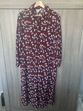 TOPSHOP Maternity Long Dress Size 8