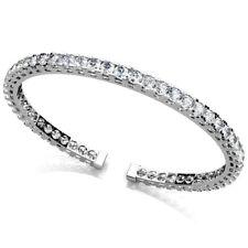 Diamant Brillant Armspange Armreif 3,00 Ct. 585 14K Weißgold Gelbgold Rosegold