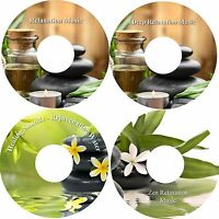 Deep Relaxation Collection on 4 CDs Stress Anxiety Relief Deep Sleep Healing