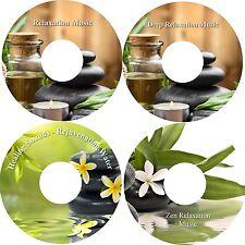 Deep Relaxation Music & Water on 4 CDs Massage Healing Stress Relief Sleep Aid