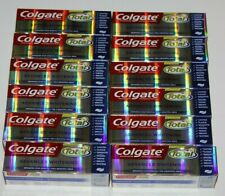 LOT (12) COLGATE TOTAL ADVANCED WHITENING PASTE TOOTHPASTE 4.0 OZ