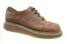 Dr Martens Brown Leather Wingtip Casual Lace Up Oxfords Shoes Boys 3 UK / US 4