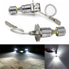 2X H3 30w LED Bulbs For Fog Lamp Driving DRL Canbus No Error 6-SMD 360° Lighting