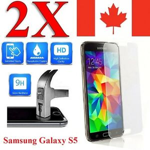 Premium Screen Protector Cover For Samsung Galaxy S5 & S5 NEO (2 Pack)