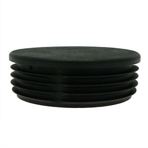 5 Pack Round Tube Insert 110mm, 2mm-4.5mm Wall, Plastic Chair Feet, Tube End Cap