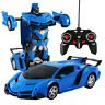 RC Robot Car Transformation Robots Tranformers Model Robots Toys Deformation Toy