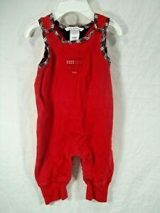 baby girls size 3-6 months Tommy Hilfiger red jersey jumper