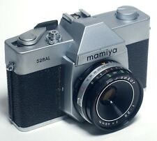 Mamiya 528AL 35mm SLR Vintage Film Camera Sekor f/2.8 48mm Lens JAPAN