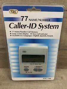 Tozaj 77 Caller ID System Name Number Large 3 Line Display 3 Languages ATC-146
