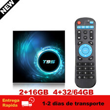 New T95 Android 10 H616 Cuatro Núcleos TV Box 6K 2.4G Wifi Media Player TV Caja
